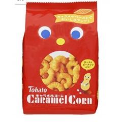 Карамельно-арахисовые кукурузные палочки. 88 гр.(Япония)