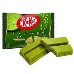 NESTLE Kit Kat matcha — вафельные конфеты с зеленым чаем.(1 шт)