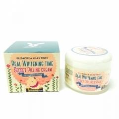 ELIZAVECCA Real Whitening T Secret Peeling Cream.100 ml. (Корея)