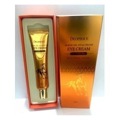 Deoproce Horse Oil Hyalurone Eye Cream. 40 мл.(Корея)