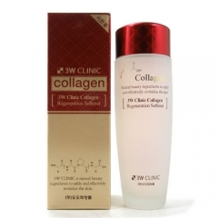 3W Clinic Collagen Regeneration Softener.150 мл.(Корея)