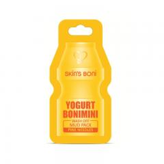 SKIN'S BONI Yogurt Bonimini Wash Off Mud Pack Pine Needles 15 мл.(Корея)