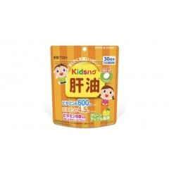 ITOH Детский сквален с витаминами A, D В6, биотином и ниацином.90 шт