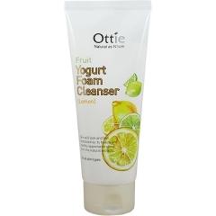 OTTIE Fruits Yogurt foam Cleanser Lemon. 150 мл. (Корея)