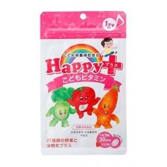 Happy Baby Жевательные витамины для детей со вкусом клубники, 90шт