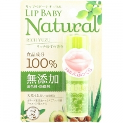 MENTHOLATUM LIP BABY NATURAL. 4 гр.(Япония)