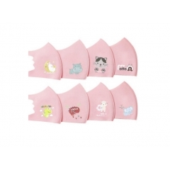 A_3D Kids mask Pink .1 шт (Корея)