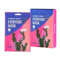 DEARBOO Lavender & Cactus Everyday Mask.(Корея)