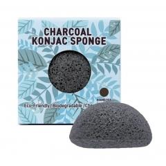 Trimay Charcoal Konjac Sponge.1 шт.(Корея)