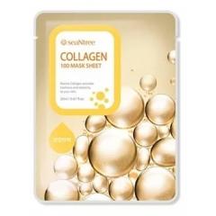 SEANTREE Collagen 100 Mask Sheet. 20 ml.(Корея)