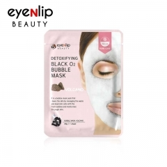 EYENLIP Detoxifying Black O2 Bubble Mask.(Корея)