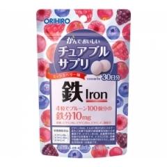 Orihiro Железо с ягодным вкусом. На 30 дней