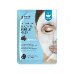 EYENLIP Detoxifying Black O2 Bubble Mask - Charcoal.(Корея)