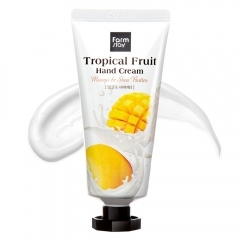 Farmstay Tropical Fruit Hand Cream - Mango & Shea Butter.50 мл.(Корея)