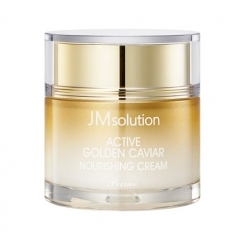 JMSOLUTION Active Golden Caviar Nourishing Cream.60 мл.(Корея)