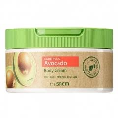 The Saem Care Plus Avocado Body Cream.300 мл.(Корея)